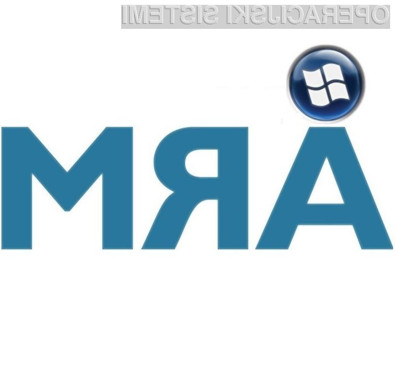 Microsoft verjame v uspešno prihodnost procesorjev ARM!