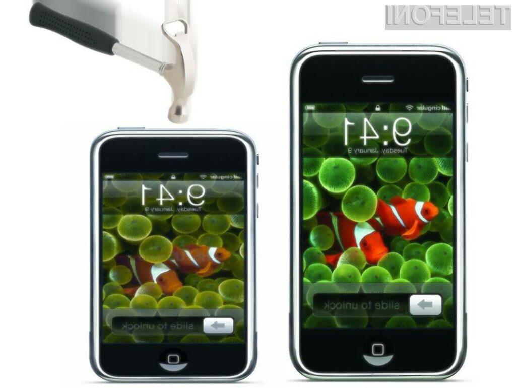 Na manjšo različico mobilnika iPhone lahko za zdaj kar pozabimo.