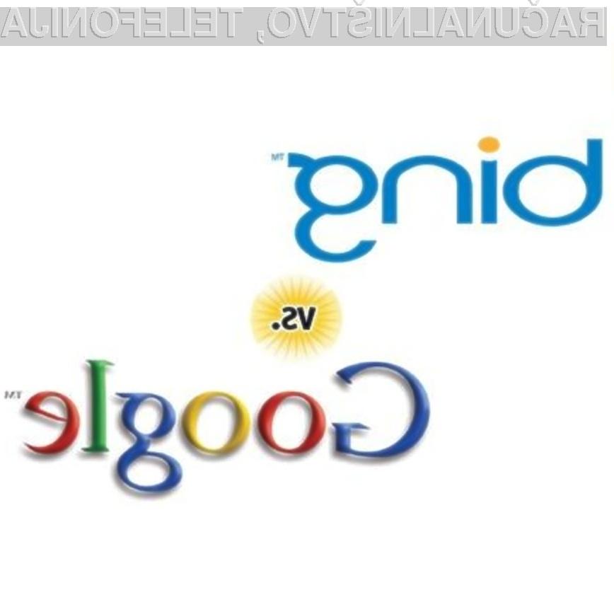 Kdo je boljši? Bing ali Google?