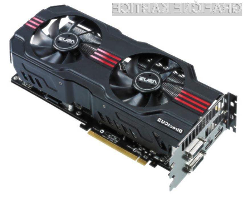 Zmogljiva grafična kartica Asus GeForce GTX 580 DirectCU se navija kot za stavo!