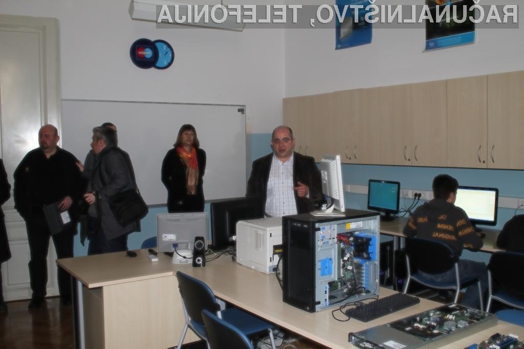 Vegova Ljubljana odprla sodobno računalniško učilnico
