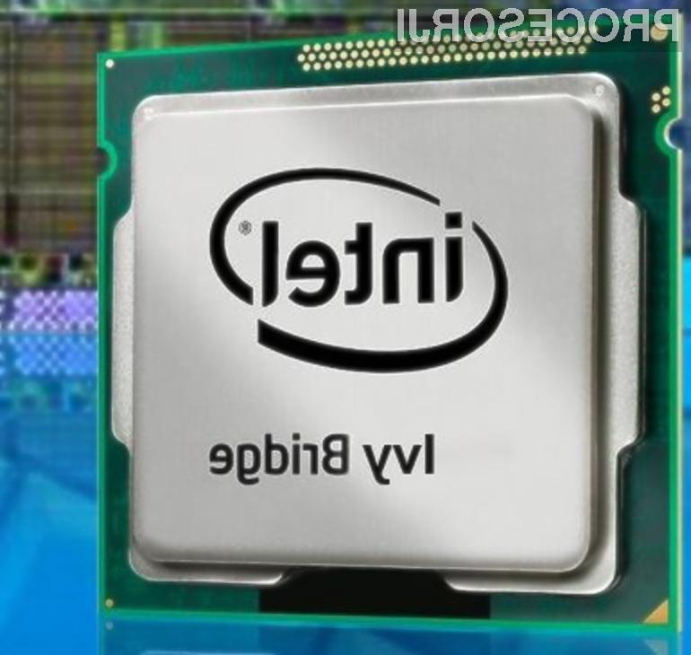 Procesorji Intel Ivy Bridge obetajo večjo zmogljivost ob nižji porabi električne energije.