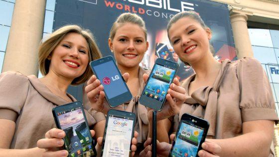 LG Mobile s 3D pametnimi telefoni in tabličnim računalnikom