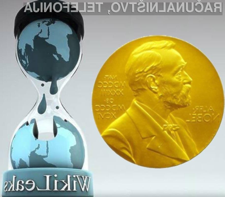 Lahko spletna stran prejme Nobelovo nagrado za mir?