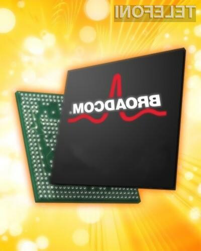 Nova Broadcomova platforma, bo gostila izjemno zmoljiv dvojederni 1.1 GHz  ARM Cortex procesor.