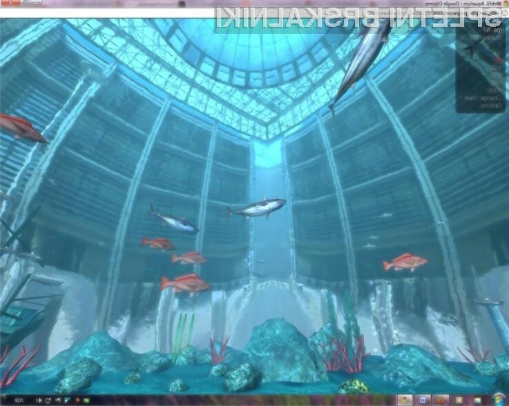 WebGL je impresivna tehnologija, ki omogoča prikaz 3D grafike znotraj spletnega brskalnika.