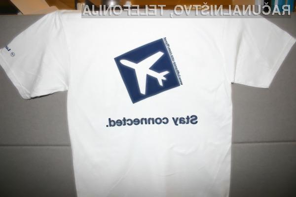 Storitev Flynet je trenutno na voljo na izbranih linijah preko severnega Atlantika.