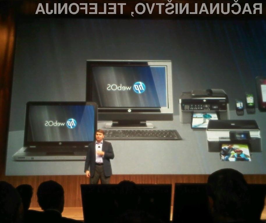Operacijski sistem HP webOS za prenosne in osebne računalnike vsaj zaenkrat obeta veliko!