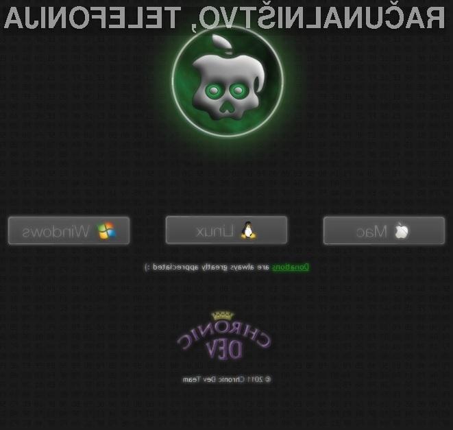 Varnostna zaščita mobilnega operacijskega sistema iOS 4.2.1 pričakovano ni bila kos spretnim hekerjem!