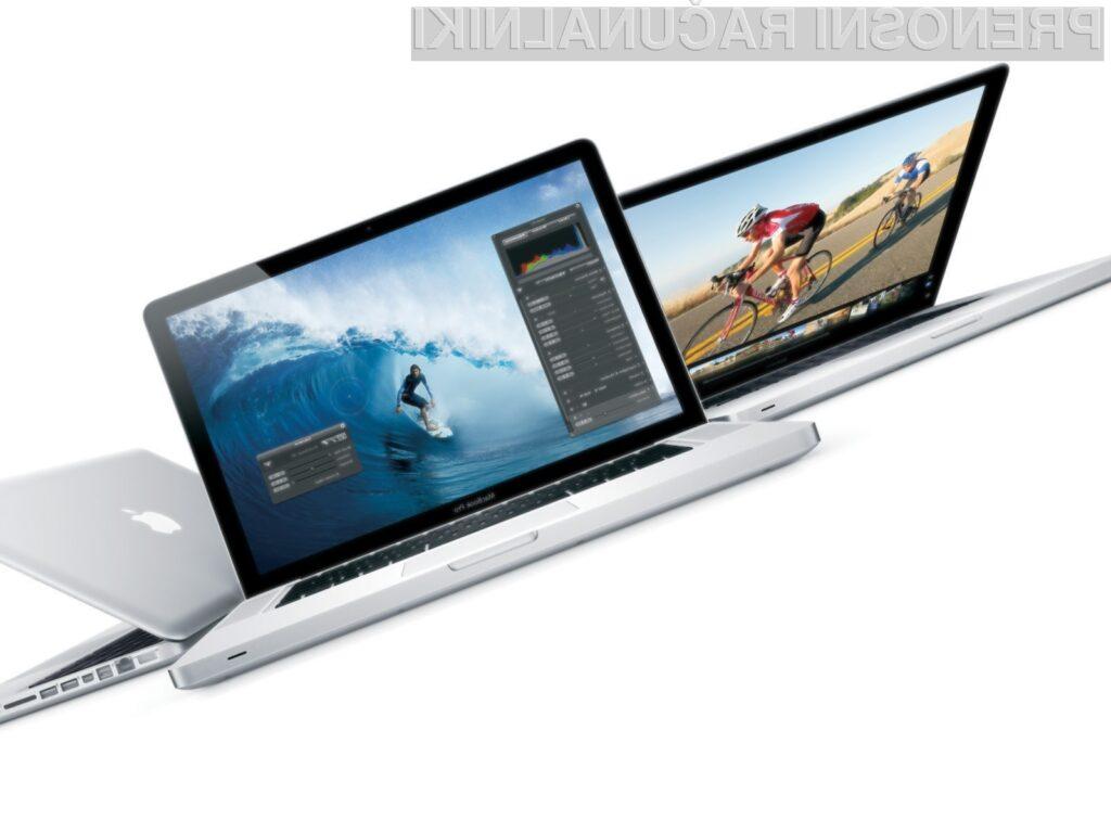 MacBook Pro je prvi računalnik na trgu s prelomno tehnologijo prenosa podatkov Thunderbolt.