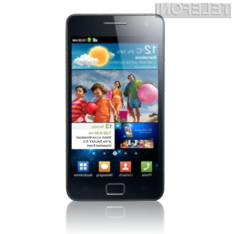 Samsung Galaxy S2 ugledal luč sveta!