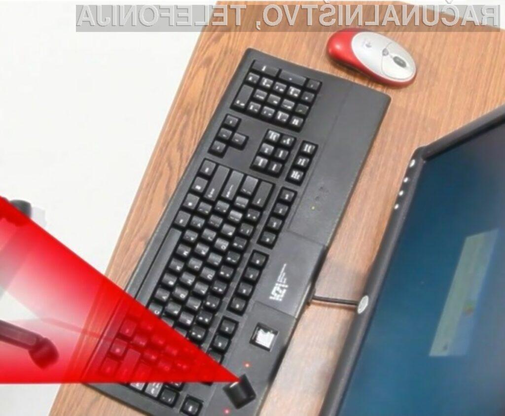 Računalniška tipkovnica SonarLocID bo poskrbela za varnost naših podatkov.