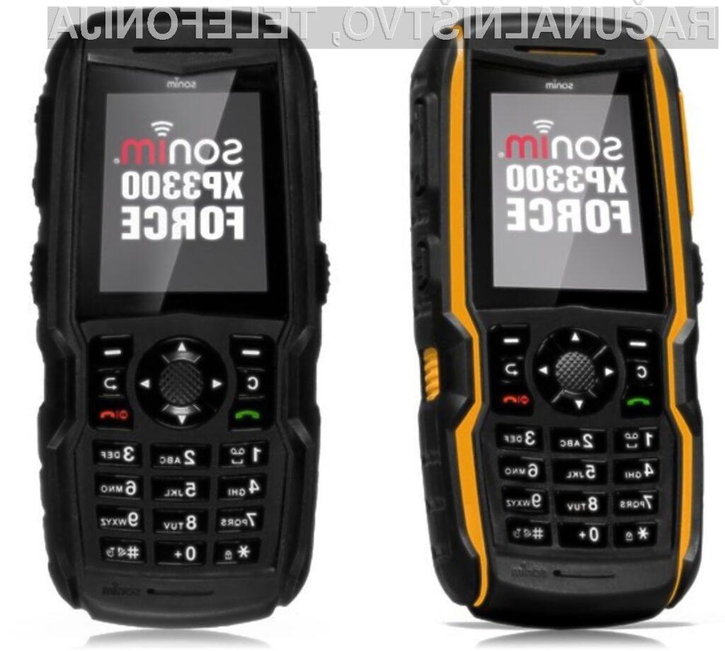 Mobilniku Sonim XP3300 Force nič ne more do živega!