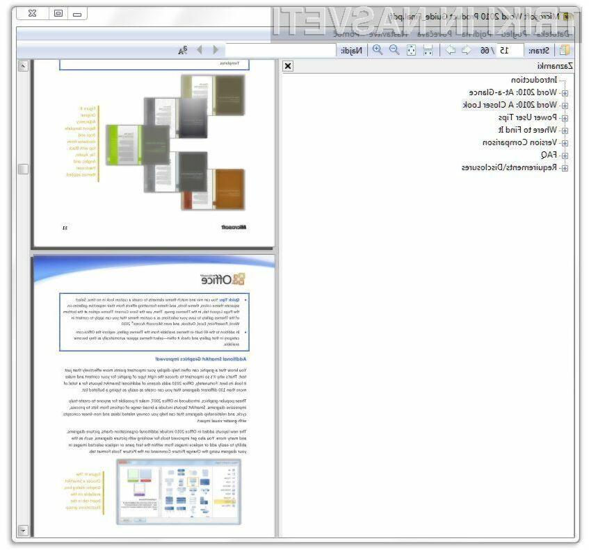 Sumatra PDF je dobra alternativa Adobe Readerju.