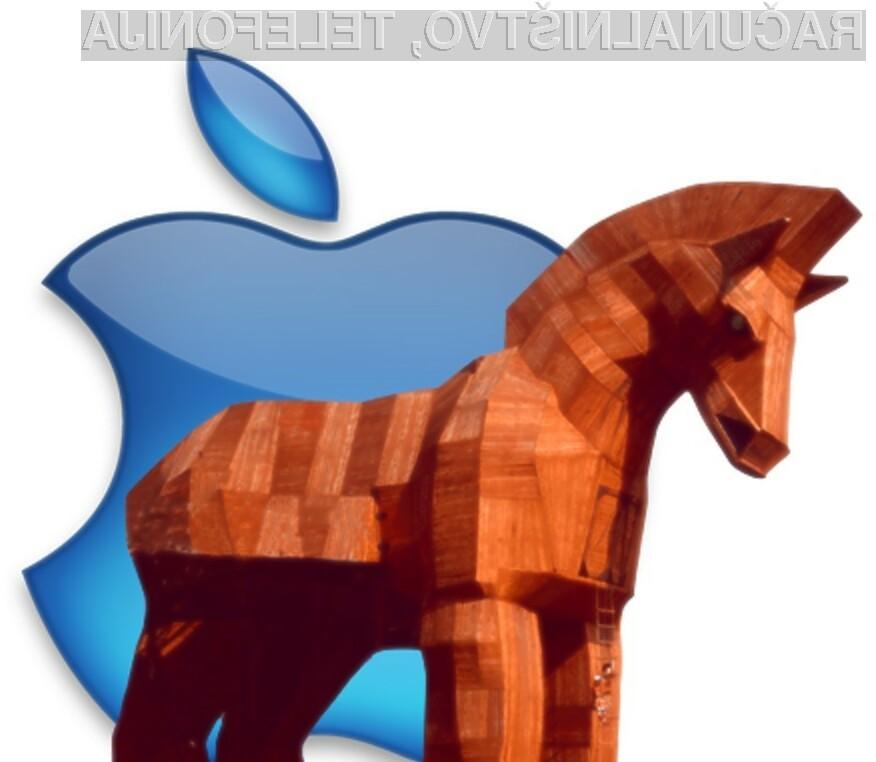Apple MacOS X na račun njegove priljubljenosti postaja vse bolj priljubljena tarča nepridipravov.