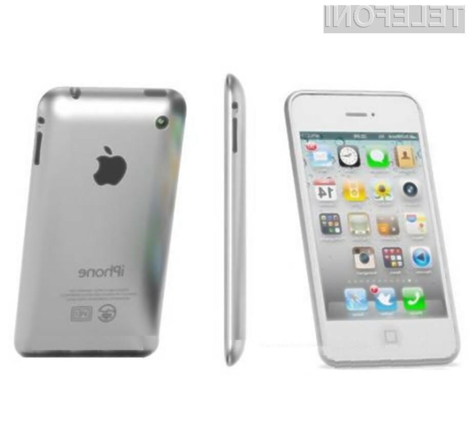 Hrbtni del težko pričakovanega mobilnika iPhone 5 bo po vsej verjetnosti izdelan iz aluminija.