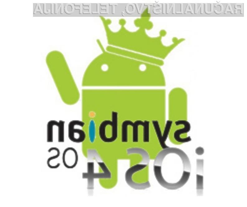 Android naj bi leta 2015 uporabljala že skoraj polovica uporabnikov mobilnih naprav!