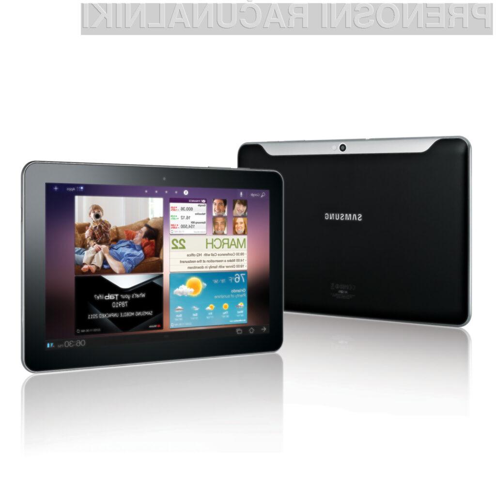 Samsung je na Applovo oglaševanje tankosti tabličnega računalnika iPad 2 odgovoril s še tanjšo tablico.