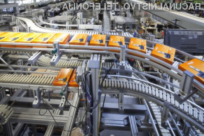 Gigaset je te dni v Nemčiji (Bocholt) proizvedel 150-milijonti telefon!