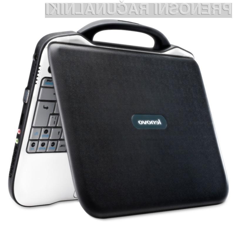 Oblikovno je netbook podjetij Lenovo in Intel zelo všečen.