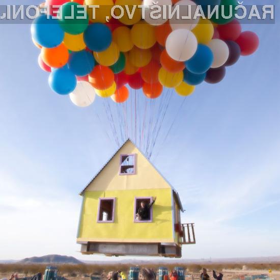 Leteča hiša navdušuje v vseh pogledih!
