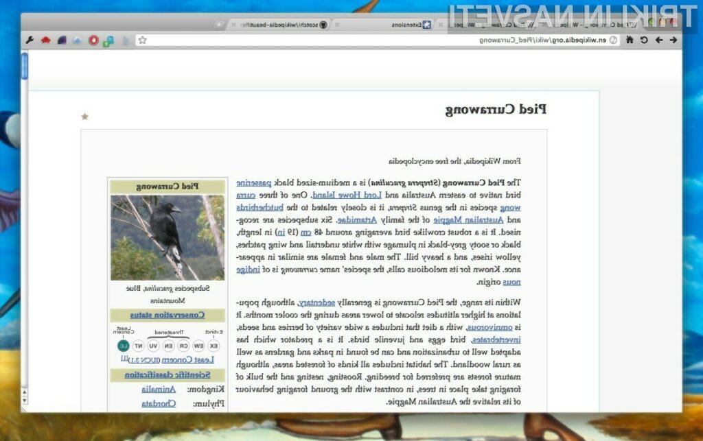 Oblikovno všečnejša Wikipedia!