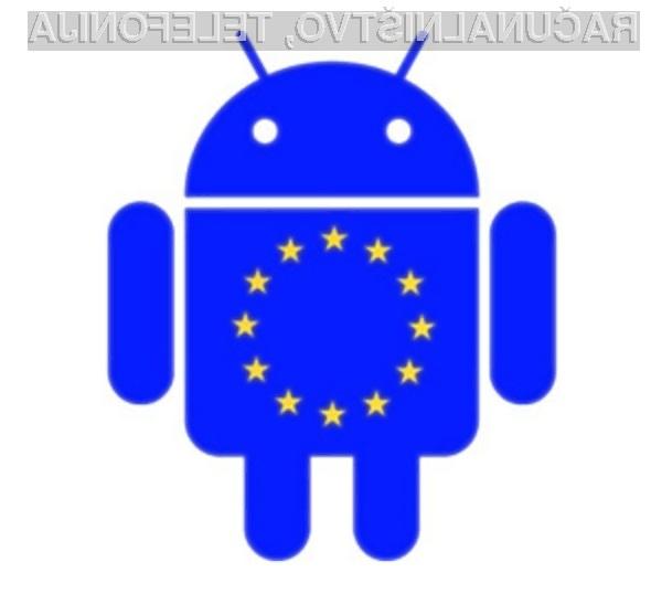 Android se v Evropi trži kot za stavo!