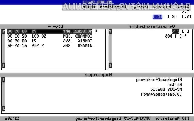 Predhodnik operacijskega sistema Windows!