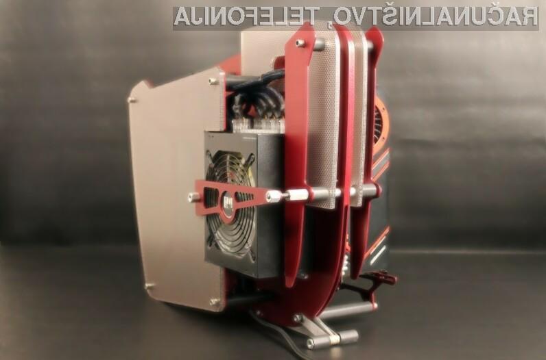 Kljub izpostavljenim komponentam Pure Luxury v delovanju proizvede le 30 decibelov hrupa in 20 do 40 stopinj Celzija.