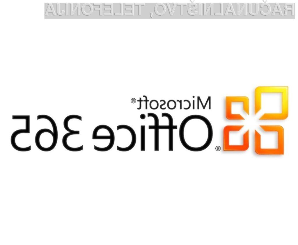 Spletni pisarniški paket Office 365 naj bi bil za študente in profesorje na voljo po simbolični ceni.