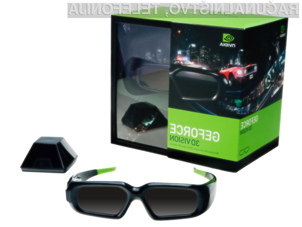 Nvidia bo svojo 3D vision tehnologijo, ki omogoča pretakanje 3D videa na internetu, razvijalcem ponudila popolnoma brezplačno.