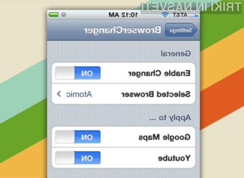 S programom Browser Changer bomo veliko privarčevali predvsem na času!