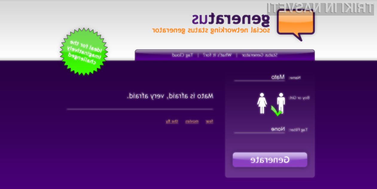 Generatus - orodje, ki bo odpravilo vaše vsakdanje težave.