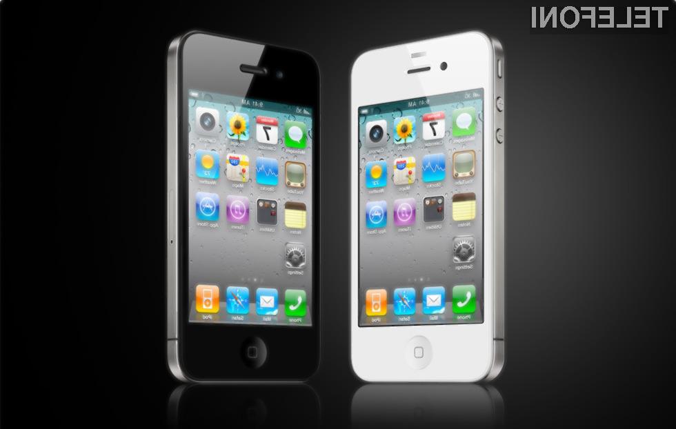 Beli iPhone 4 bo vendarle ugledal luč sveta!