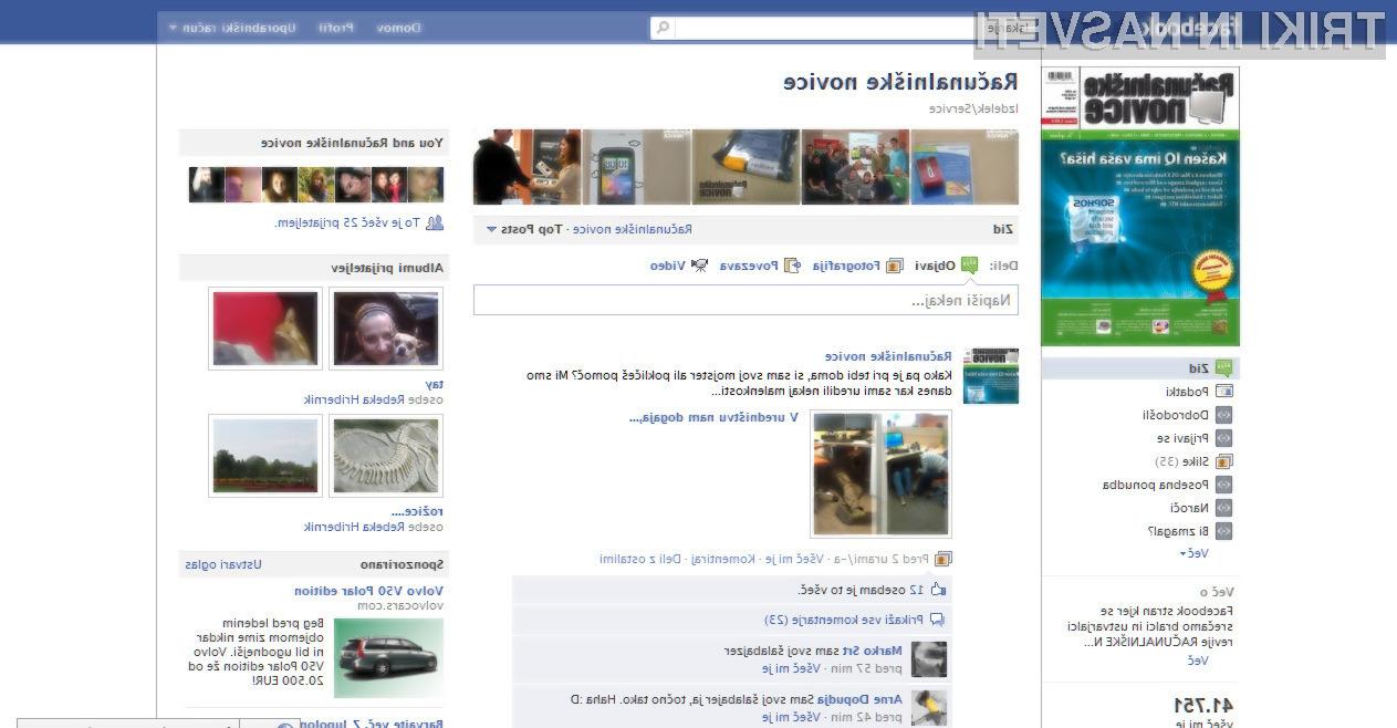 Nov sistem komentiranja na Facebooku, je pri mnogih povzročil nenadejane težave.