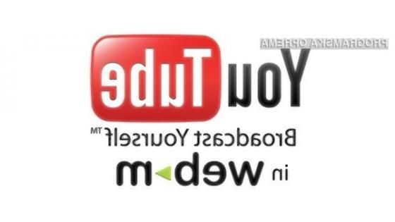 YouTube z novim formatom WebM