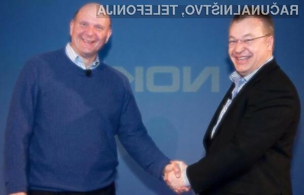 Bo Nokia kmalu postala Microsoftova?