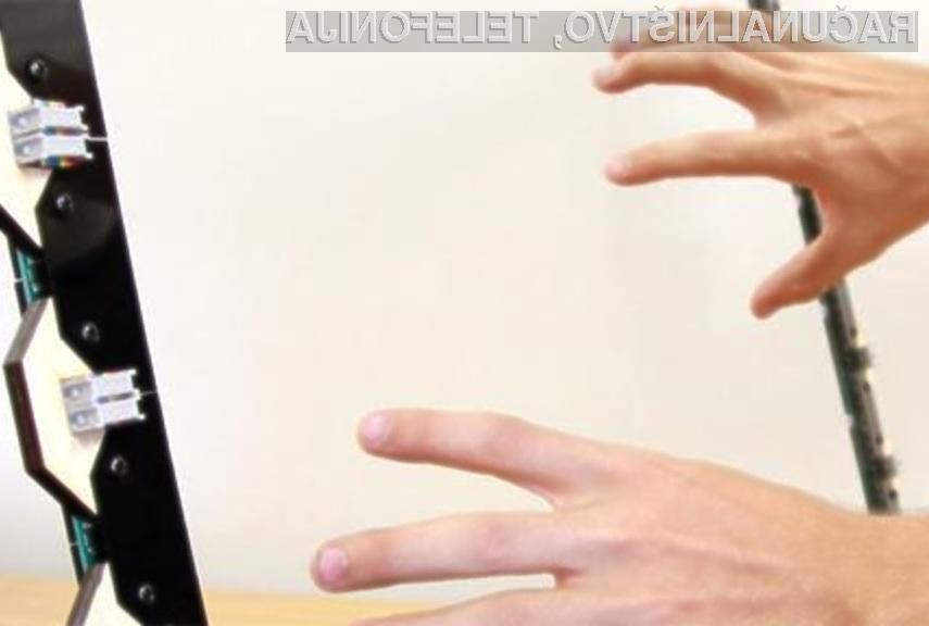 ZeroTouch: Zaslon brez zaslona