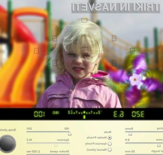 Online SLR Simulator: Za hitro in enostavno učenje, kako rokovati z DSLR fotoaparati.