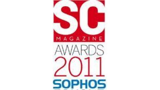 Sophos prejel SC Magazine Award
