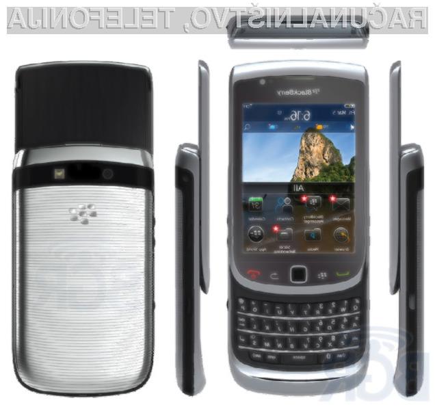 Prve fotografije novega BlackBerrya Torch 2