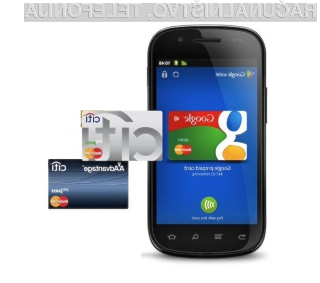 Google: Prihodnost je v mobilnem plačevanju!
