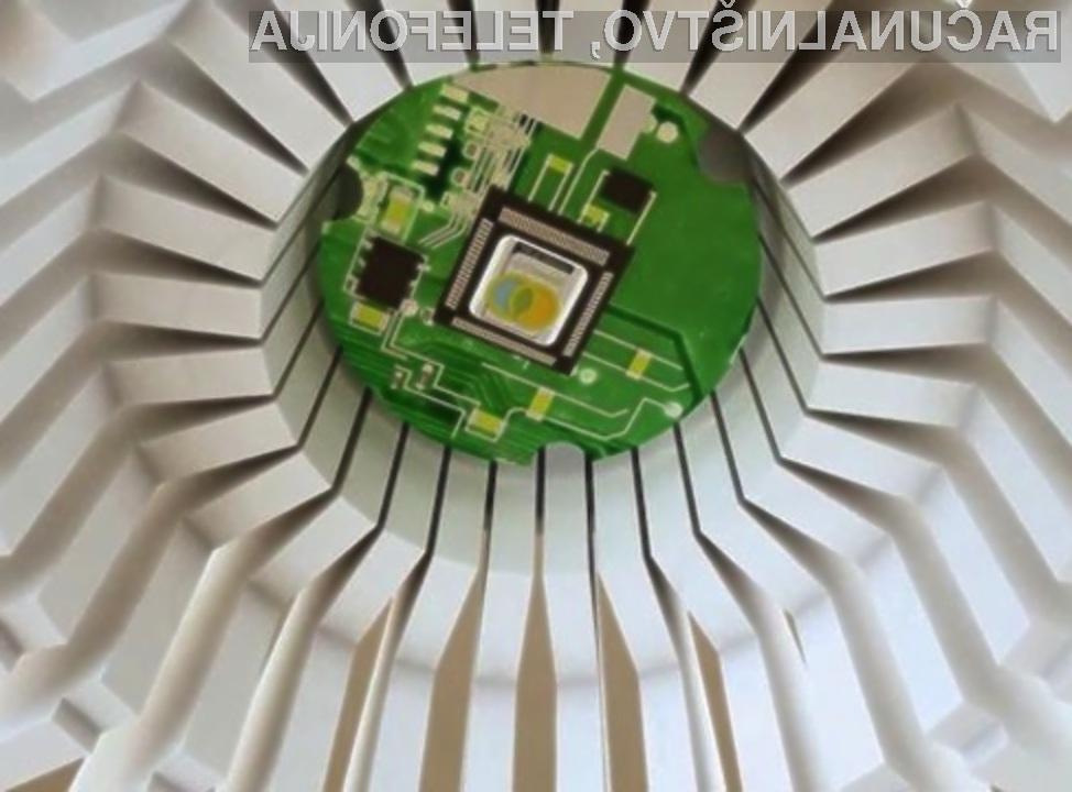 Z žarnicami LED bomo kmalu lahko upravljali kar preko domačega računalnika.
