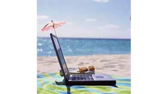 Internet na počitnicah