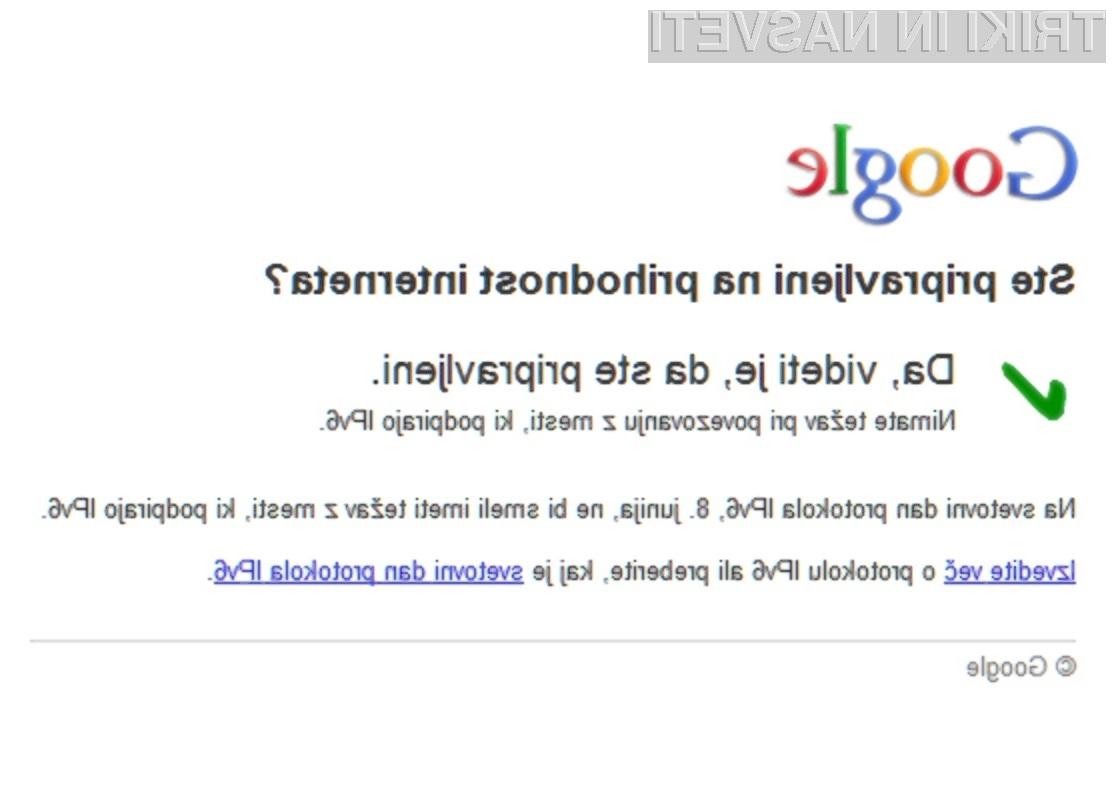 Računalniške novice so pripravljene na IPv6. Kaj pa vi?