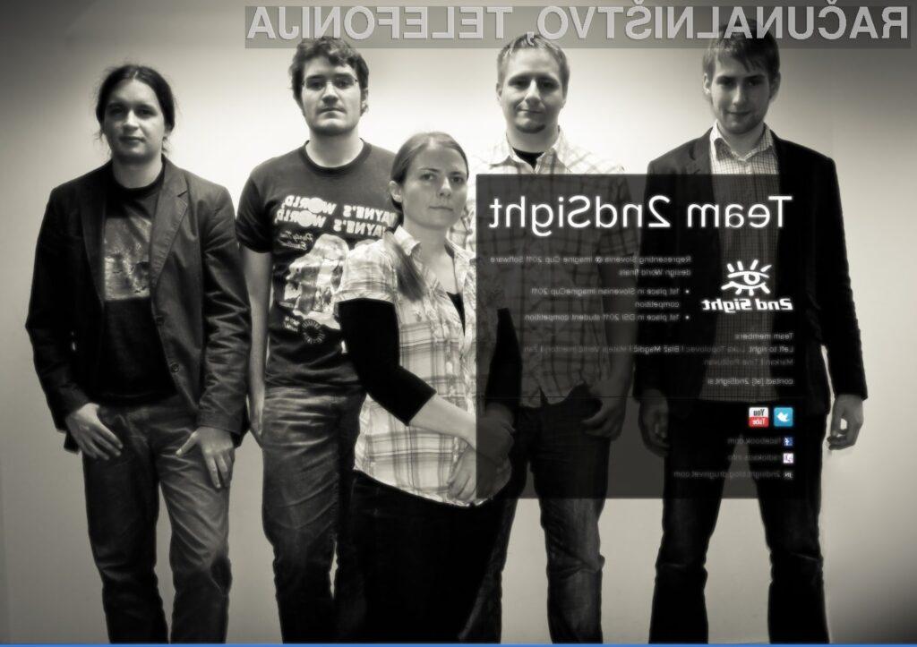 Mariborska ekipa 2ndSight potrebuje vašo pomoč!
