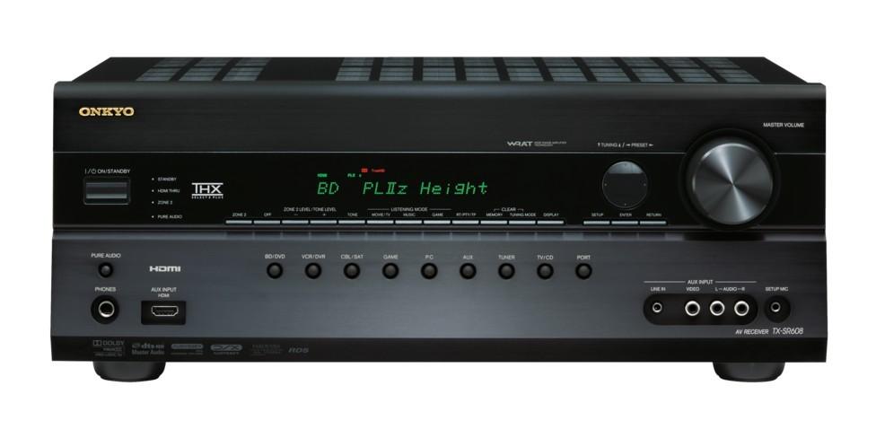 AV Receiver Onkyo TX SR 608 Black
