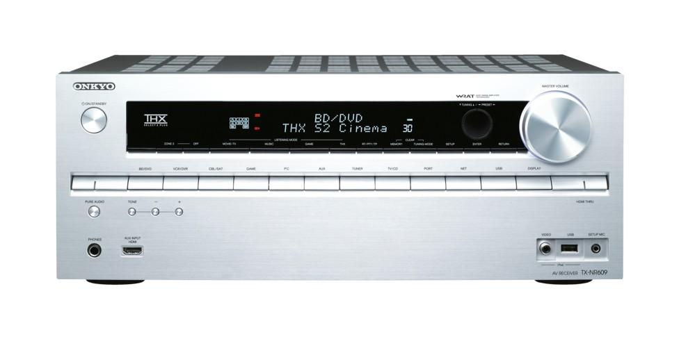 AV Receiver Onkyo TX NR 609 Black / Silver