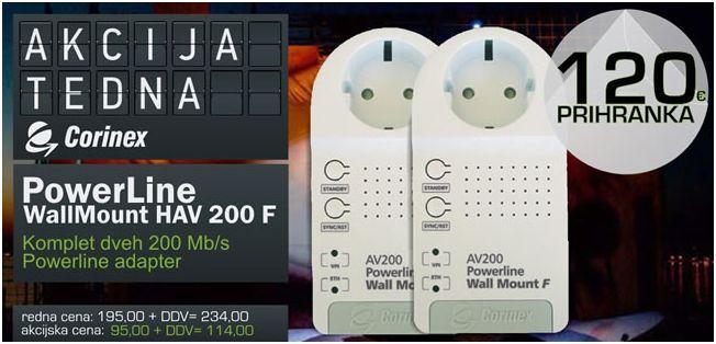 Corinex Homenet Powerplug F adapter