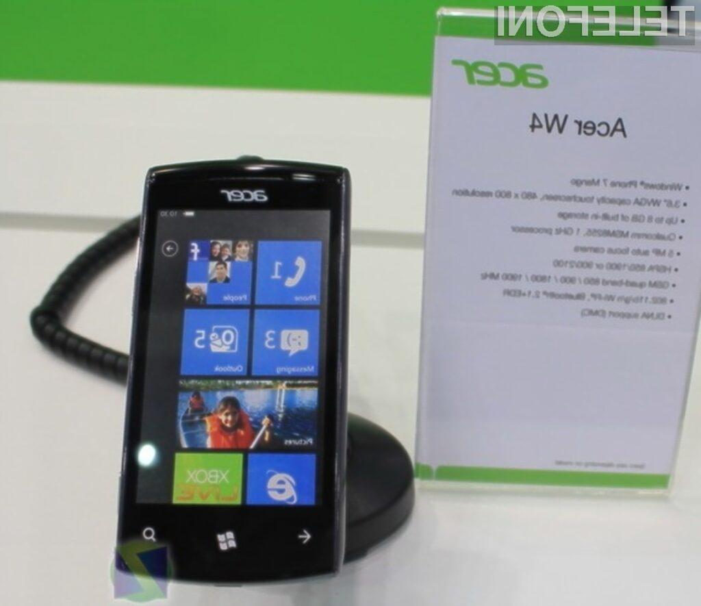 Acer stavi na Windows Phone Mango!